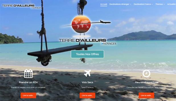 LE nouveau site de Terre d'Ailleurs dispose du moteur de BDV.fr en marque blanche - DR Capture écran