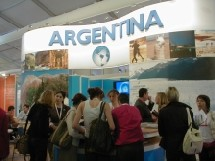 Stand de l'Argentine à Top Resa