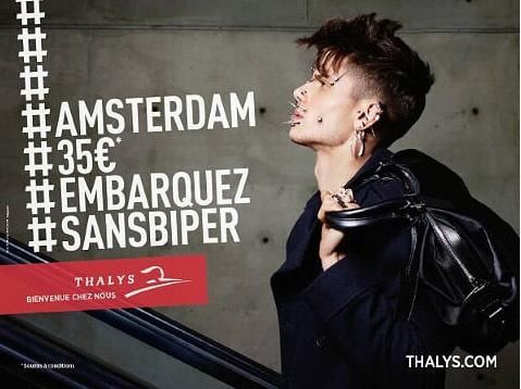 Thalys part en campagne
