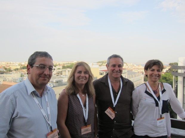L'équipe de Selectour Afat qui a organisé les forces de ventes affaires à Lisbonne. DR-LAC