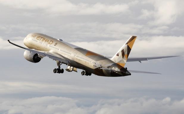 Le nouveau 787 Dreamliner sera positonné sur la ligne Abu Dhabi - Zurich dès le 6 juillet 2015 - DR : Etihad Airways