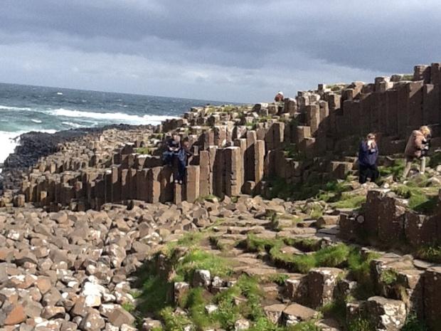 La Chaussée des Géants est le site le plus visité d'Irlande. C'est beau à couper le souffle - DR : J-P.C.