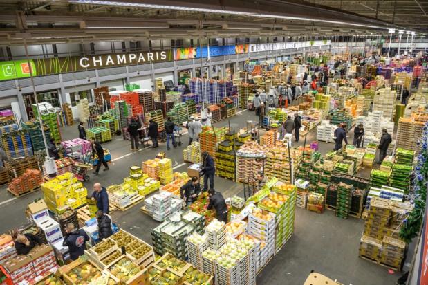 Le pavillon qui fournit chaque année un million de tonnes  de fruits et légumes aux consommateurs français.
