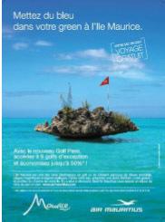 L'île Maurice s'affiche dans 260 golfs parisiens
