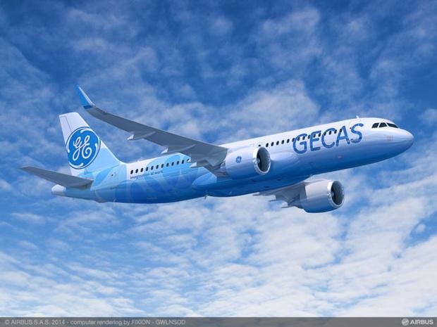 GE Capital Aviation Services (GECAS), la branche de leasing de General Electric a annoncé une commande ferme de 60 appareils de la famille A320neo y compris l'A321neo - DR Airbus