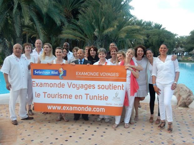 Examonde Voyages a organisé sa convention à Djerba afin de soutenir le tourisme en Tunisie - Photo : Examonde Voyages