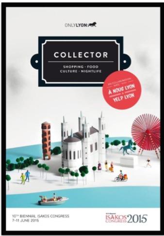 L'édition spéciale du guide Collector aux couleurs du Congrès Isakos - DR : OnlyLyon