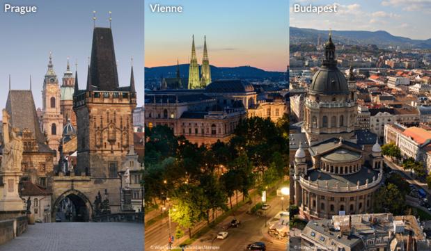 1/4 - Prague, Vienne, Budapest : trois capitales en plein essor touristique