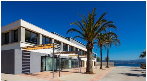 La salle Sainte Marthe offre une vue à 360° sur la mer - Photo : DR