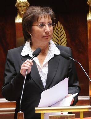 Martine Pinville entre au gouvernement - DR : Wikipedia