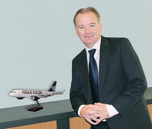 Michael Hamelink vient d'être nommé au poste de Président-Directeur Général d'Aigle Azur