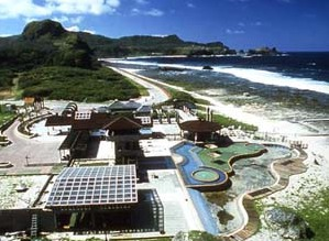 Les sources de Green Island à Taïwan : DR : OT de Taïwan