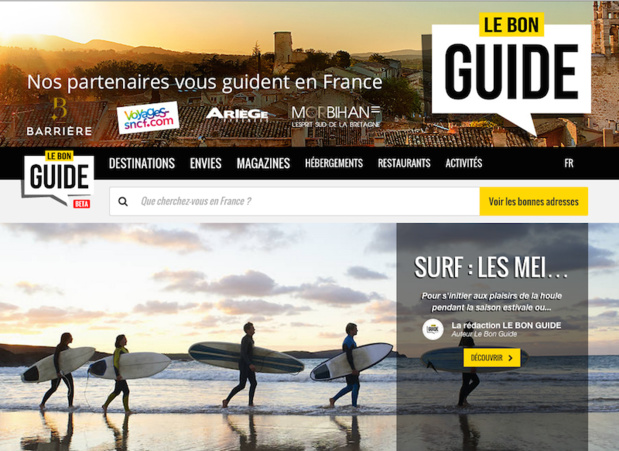 Le Bon Guide : l'ambitieux portail pour mieux vendre la destination France