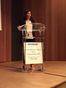 Anne Hidalgo la maire de Paris veut améliorer l'image de la capitale auprès des touristes étrangers. DR Didier Guillot
