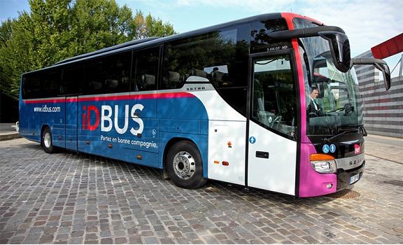 La flotte d'IDBUS accueillie 80 nouveaux autocars qui entreront en service le 2 septembre 2015 - Photo : iDBUS