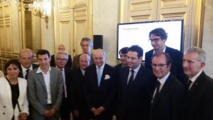 A great turnout of official celebrities during the presentation of Bon Guide. DR-F. Bitouzet @B2zet
