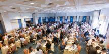 La session de deux heures de dating a enregistré plus de 1700 rendez-vous entre dirigeants e-commerce et une sélection de 48 sponsors. (c)Digilinx