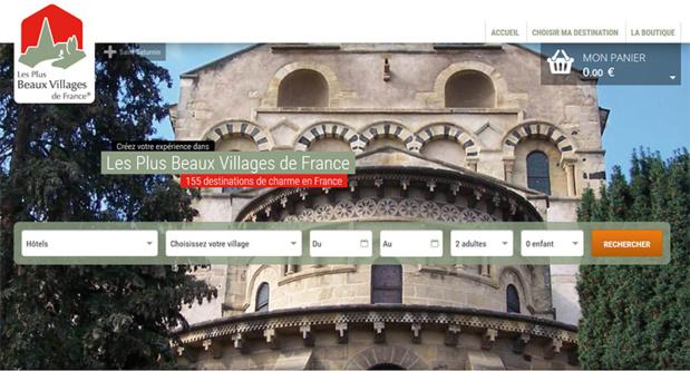 Les Plus Beaux Villages de France lance leur site de réservations de séjours