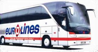 Les autocars d'Eurolines roulent désormais entre Lyon et Genève - DR : Eurolines
