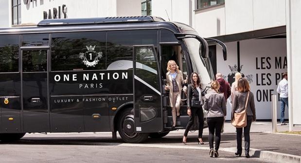 One Nation Paris propose un service de navettes haut de gamme au départ de Versailles et de la place de l'Opéra à Paris, la semaine et le weekend - DR : One Nation Paris