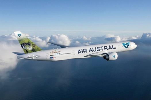 Le trafic d'Air Austral pourrait subir des perturbations en raison d'un préavis de grève de l'Unsa pour le 2 juillet 2015 - Photo : Air Austral