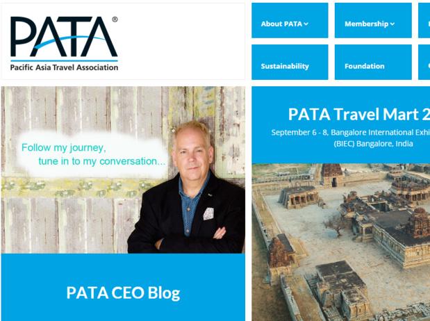 Le but de la PATA ? Assurer, à travers ses membres, généralement professionnels du tourisme, la promotion des destinations d'Asie - Capture d'écran