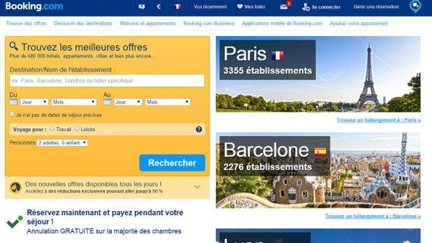 Booking.com supprime certaines des clauses de parités en Europe - Capture d'écran