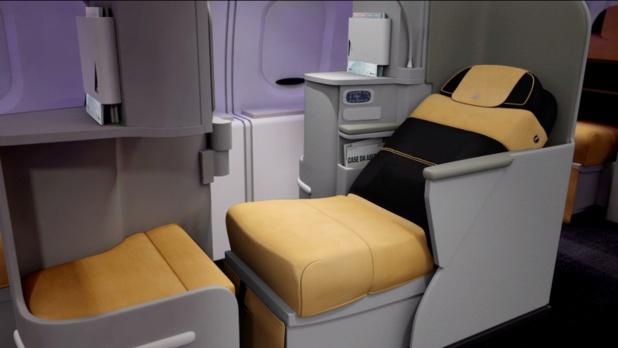 Le nouveau siège Magnifica de la compagnie Alitalia - DR : Alitalia