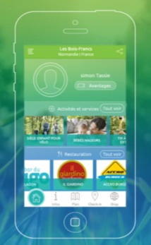 Center Parcs lance une nouvelle application mobile
