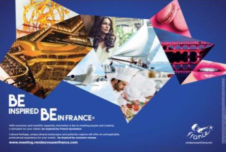 Atout France lance une campagne pour promouvoir les évènements professionnels