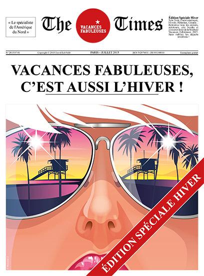"""Travel Lab édite """"The Times Vacances Fabuleuses 2015"""""""