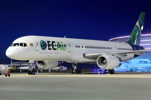 Le Boeing B757 d'ECAir avait été saisi à Roissy en avril 2015 - Photo : ECAir