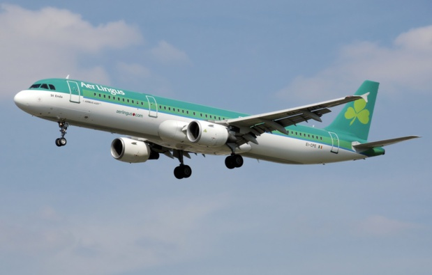 Aer Lingus offers European passengers to go through the entry procedures to the United States on Irish soil. - DR : Aer Lingus