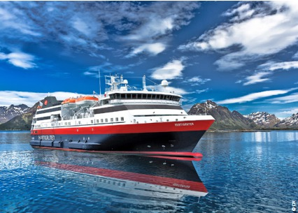 Le MS Explorer Norway est le 13e navire de la flotte d'Hurtigruten - Photo : Hurtigruten