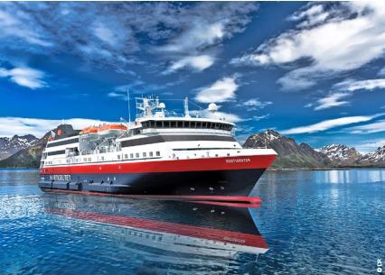 Le MS Explorer Norway est le 13e navire de la flotte d'Hurtigruten - Photo : Hurtigruten