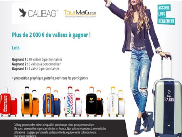 Calibag et TourMaG.com lancent un jeu concours à l'attention des professionnels du voyage - DR