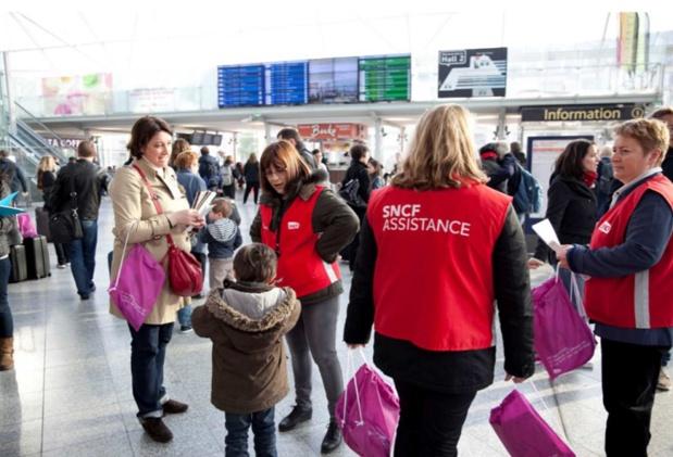 Le programme Junior&Cie, permet aux enfants de 4 à 14 ans qui voyagent seuls, d'être encadrés par des animateurs - DR : SNCF