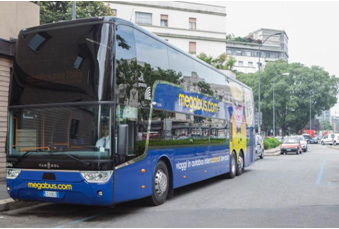 megabus.com lance une ligne Milan, Turin, Lyon, Paris, Lille et Londres