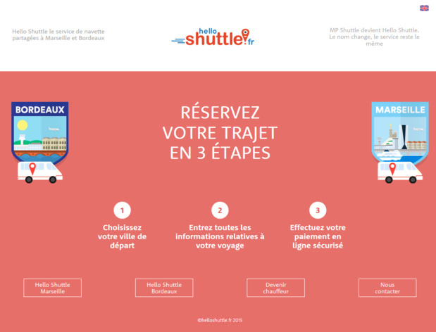 MP Shuttle change de nom et devient Hello Shuttle