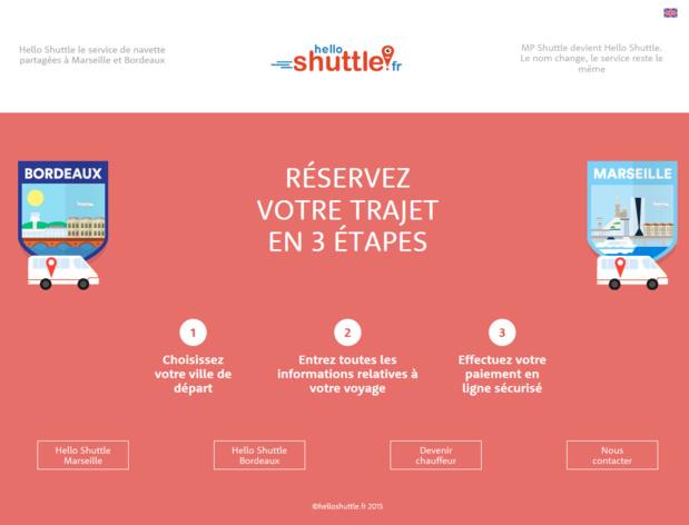 MP Shuttle change de nom et devient Hello Shuttle