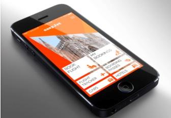 easyjet lance une nouvelle appli mobile