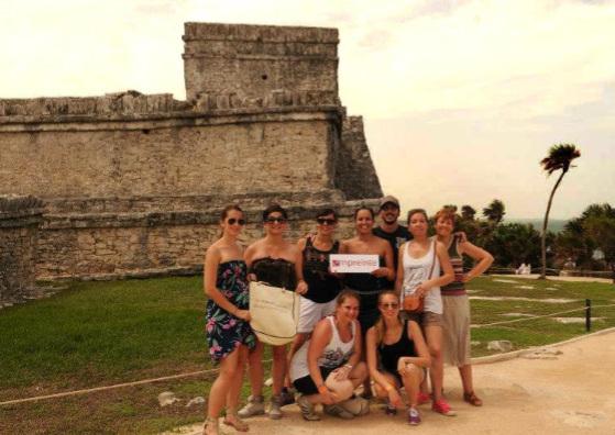 Empreinte : 7 agents de voyages en éductour au Mexique