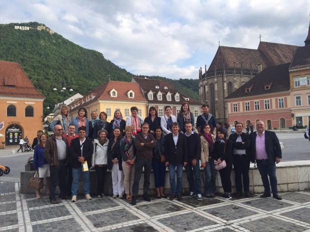 Fin juin, les équipes Groupes de Salaün et Nationaltours étaient réunies en Roumanie - DR : S.H-D.
