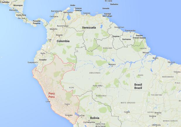 Plusieurs bus ont été attaqués ces dernières semaines au Pérou - DR : Google Maps