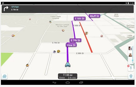 Google a racheté l'application Waze en 2013 - DR : Waze