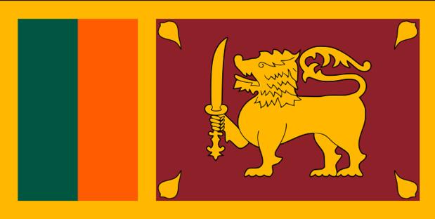 Drapeau du Sri Lanka - DR : Wikipedia