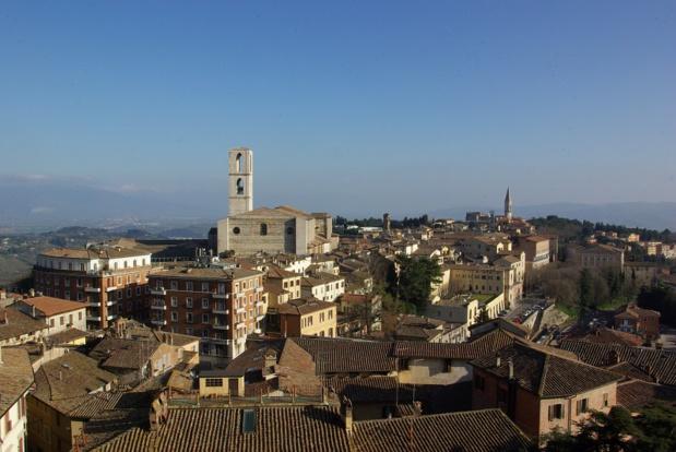 Si la Toscane est le berceau de la Renaissance italienne, l'Ombrie est le refuge bien gardé du médiévalisme italien, remanié d'influences Quatroccento - DR : J-F.R.