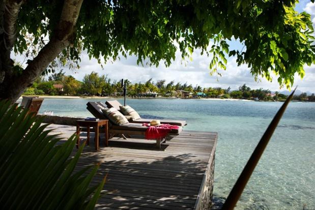 L'îlot, une villa au milieu du lagon à partager entre amis ou en famille, est le coup de coeur d'Eric Thomas, côté hôtels - DR : Turquoise TO - L'Îlot