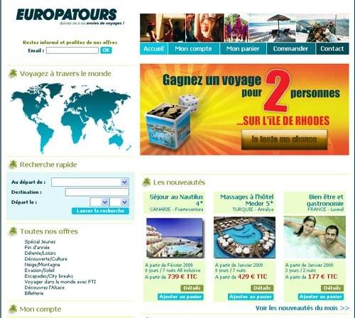 Alsace : Europatours lance un site web marchand
