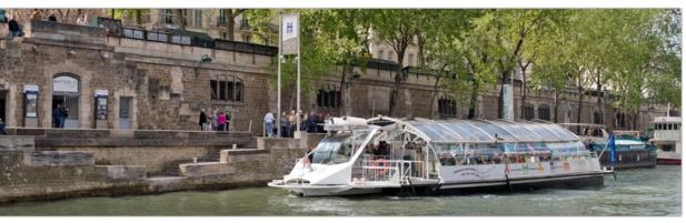Le service de Batobus fait désormais escale à Beaugrenelle Paris - Photo : Batobus Paris